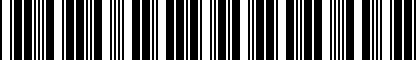 Barcode for DRG012536