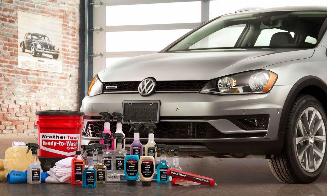 Diagram WeatherTech® TechCare® Launch Package for your Volkswagen